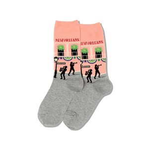 Women's New Orleans Crew Socks