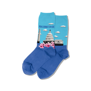 Women's Washington DC Crew Socks