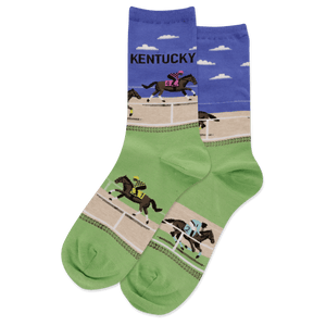 Women's Kentucky Crew Socks