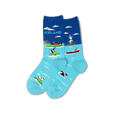 Women's Iceland Crew Socks