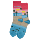 Women's Florida Crew Socks