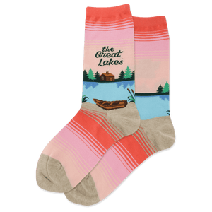 Women's The Great Lakes Crew Socks