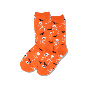 Women's Dancing Skeletons Crew Socks