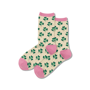 Women's Clover Crew Socks