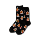 Women's Gingerbread Houses Socks