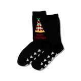 Women's Merry Crustmas Crew Socks thumbnail