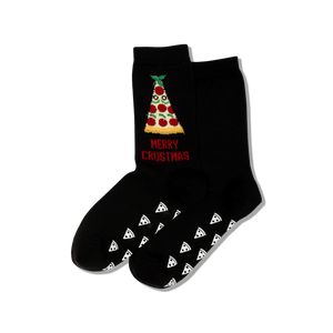 Women's Merry Crustmas Crew Socks