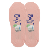 Women's Gym And Tonic No Show Socks
