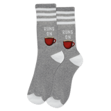 Women's Runs On Coffee Crew Socks