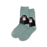 Kid's Monkey Crew Socks thumbnail
