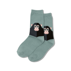 Kid's Monkey Crew Socks
