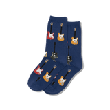 Kid's Guitars Crew Socks thumbnail