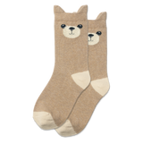 Kid's Teddy Bear Crew Socks