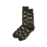 Men's Dump Trucks Crew Socks thumbnail
