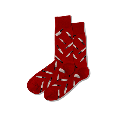 Men's Chef Knives Crew Socks
