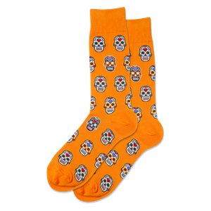 Men's Sugar Skulls Crew Socks