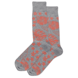 Men's Tropical Floral Crew Socks