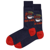 Men's Rise And Grind Crew Socks