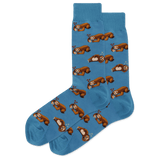 Men's Pizza Sloth Crew Socks thumbnail