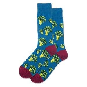 Men's Broccoli Crew Socks