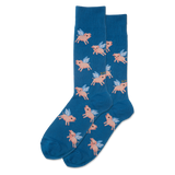 Men's Flying Pig Crew Socks