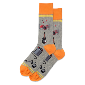 Men's Garage Band Crew Socks