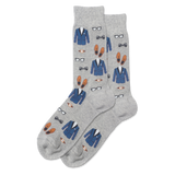 Men's Fancy Gentleman Crew Socks thumbnail