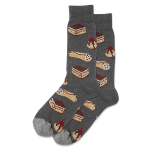 Men's Italian Pastries Crew Socks