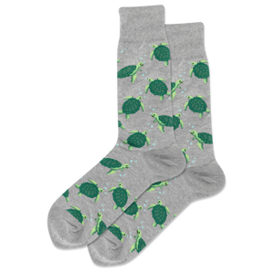 Men's Turtles Crew Socks