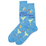 Men's Cinco De Drinko Crew Socks thumbnail