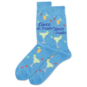Men's Cinco De Drinko Crew Socks