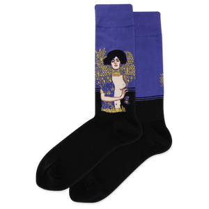 Men's Judith And The Head Of Holofernes Crew Socks