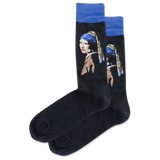 Men's Girl With The Pearl Earring Crew Socks