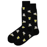 Men's Shot Glasses Crew Socks