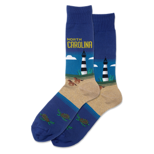 Men's North Carolina Crew Socks