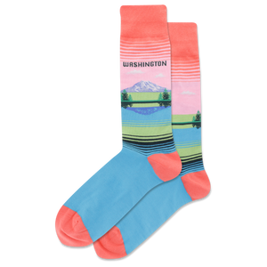 Men's Washington Crew Socks