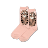 Women's Big Cat Crew Socks thumbnail