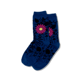 Women's Mixed Floral Crew Socks