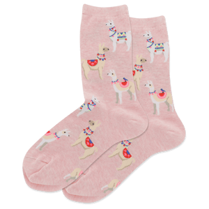 Women's Alpacas Crew Socks