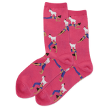 Women's Goat Yoga Crew Socks