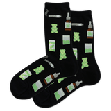 Women's 420 Weed Crew Socks thumbnail