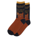 Women's The Great Catsby Crew Socks thumbnail