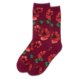 Women's Autumn Floral Crew Socks thumbnail