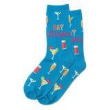 Women's Day Drinker Crew Socks thumbnail