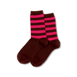 Women's Top Stripe Crew Socks