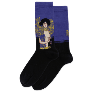 Women's Judith Head Of Holofernes Crew Socks