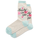 Women's Happily Ever After Crew Socks