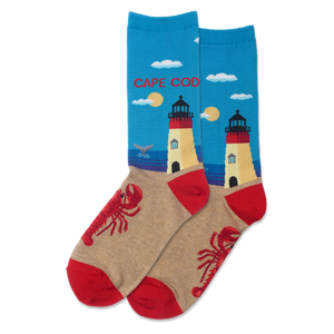 Women's Cape Cod Crew Socks