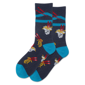 Women's Noodles Sport Crew Socks