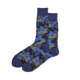 Men's Lion Camouflage Crew Socks thumbnail